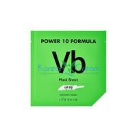 Тканевая маска для проблемной кожи Power 10 Formula Mask Sheet VB It's Skin