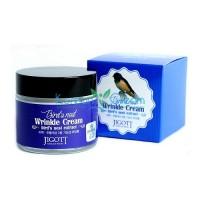 Крем для лица с экстрактом ласточкиного гнезда антивозрастной Bird'S Nest Wrinkle Cream JIGOTT, 70 мл