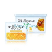 Тканевая маска с экстрактом меда Get Some Honey Mask Pack KOELCIA, 30 шт