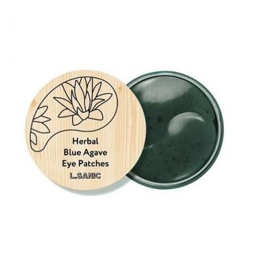 Гидрогелевые патчи для век с экстрактом голубой агавы, 60 шт — Herbal Blue Agave Hydrogel Eye Patch