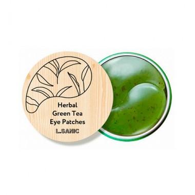 Гидрогелевые патчи с экстрактом зеленого чая, 60 шт — Herbal Green Tea Hydrogel Eye Patch