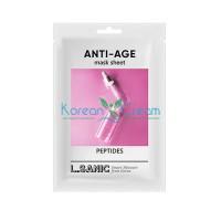 Антивозрастная тканевая маска с пептидами Peptides Anti-Age Mask Sheet L.SANIC