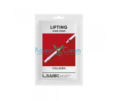 Коллагеновая тканевая маска с эффектом лифтинга Collagen Lifting Mask Sheet L.SANIC
