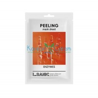 Обновляющая тканевая маска с энзимами Enzymes Peeling Mask Sheet L.SANIC