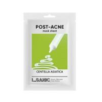 Тканевая маска с экстрактом центеллы азиатской против постакне Centella Asiatica Post-Acne Mask Sheet L.SANIC