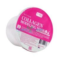 Альгинатная маска для сухой кожи с коллагеном моделирующая Modeling Mask Collagen LA MISO, 28 г