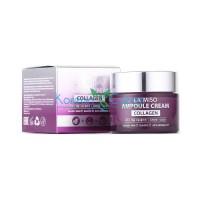 Ампульный крем для лица с коллагеном антивозрастной Ampoule Cream Collagen LA MISO, 50 мл