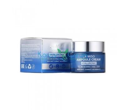 Ампульный крем для лица с гиалуроновой кислотой Ampoule Cream Hyaluronic LA MISO, 50 мл