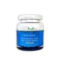 Крем для лица увлажняющий с гиалуроновой кислотой Hyaluronic Acid Deep Moisturizing Cream La Soyul, 50 г