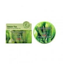 Очищающий крем для снятия макияжа с экстрактом зеленого чая, 300 мл