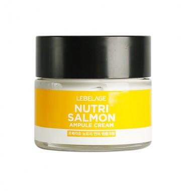Ампульный крем питательный с маслом лосося, 70 мл — Nutri Salmon Ampule Cream