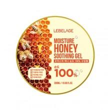 Увлажняющий успокаивающий гель с экстрактом мёда, 300 мл