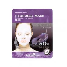 Осветляющая гидрогелевая маска с жемчуго, 25 г