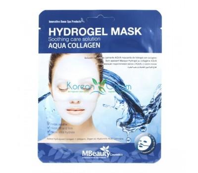 Увлажняющая гидрогелевая маска с коллагеном Aqua Collagen Hydrogel Mask MBeauty
