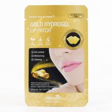 Гидрогелевые патчи для губ с золотом