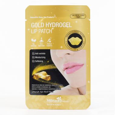 Гидрогелевые патчи для губ с золотом — Gold Hydrogel Lip Patch