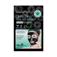 Маска-пленка с древесным углем для очищения пор Charcoal Peel Off Mask MBeauty, 7 г х 3 шт