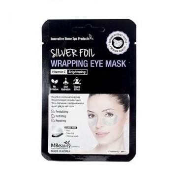Восстанавливающие серебряные фольгированные патчи с витамином С — Silver Foil Wrapping Eye Mask