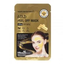 Подтягивающая маска-пленка с коллоидным золотом, 7 г х 3 шт