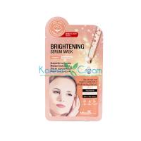 Маска тканевая для лица выравнивающая с витамином С Brightening Serum Mask MBeauty, 25 мл