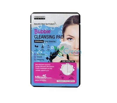 Пенящаяся очищающая подушечка для лица Bubble Cleansing Pad MBeauty, 1 шт