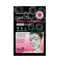 Очищающая пузырьковая маска для лица с древесным углем Charcoal Bubble Face Mask MBeauty, 20 мл