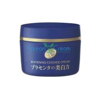 Отбеливающий крем-эссенция с экстрактом плаценты Placenta Whitening Essence Cream Meishoku, 55 гр