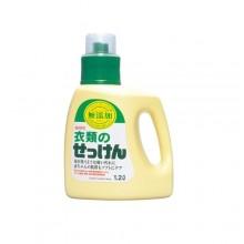 Жидкое средство для стирки на основе натуральных компонентов (для хлопка), 1200 мл