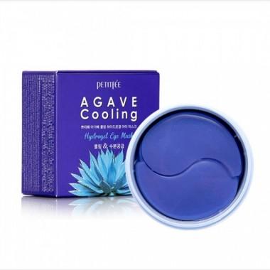 Гидрогелевые патчи для области вокруг глаз с охлаждающим эффектом, 60 шт — Agave Cooling Hydrogel Eye Mask