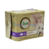 Прокладки гигиенические женские Ultra Dry l280 n10 Pure, 10 шт