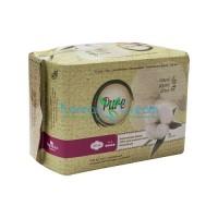 Прокладки гигиенические женские Night Soft l320 n8 Pure, 8 шт