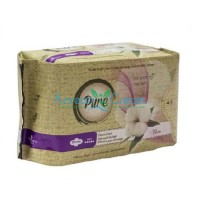 Прокладки гигиенические женские Night Dry l330 n10 Pure, 10 шт
