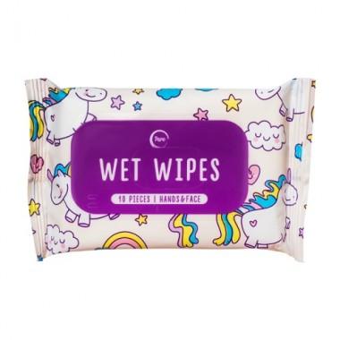 "Влажные салфетки ""Единорог"", 10 шт — Wet wipes"