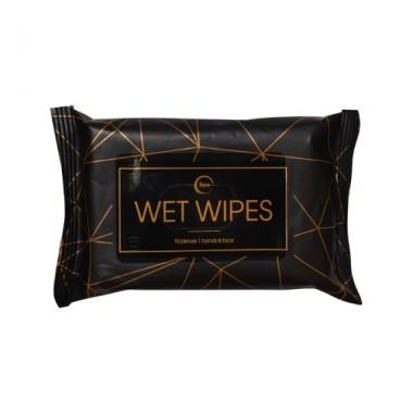 Влажные салфетки очищающие, 15 шт — Cleansing wet wipes