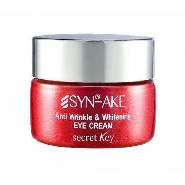 Антивозрастной крем для век с пептидами яда змеи, 15 г — SYN-AKE Anti Wrinkle & Whitening Eye Cream