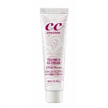 CC крем для лица осветляющий, 30 мл — CC Telling U CC Cream