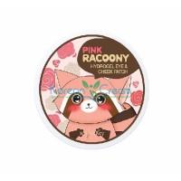 Патчи гидрогелевые для век и щек Pink Racoony Hydro-gel Eye&Cheek Patch Secret Key, 60 шт