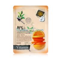 Увлажняющая тканевая маска для лица с витаминами Ultra Hydrating Essence Mask Vitamin Shelim