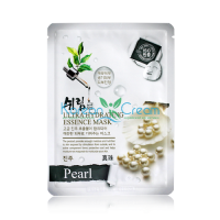 Увлажняющая тканевая маска для лица с экстрактом жемчуга Ultra Hydrating Essence Mask Pearl Shelim
