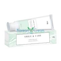 Зубная паста отбеливающая зимняя мята Smile Care, 70 мл