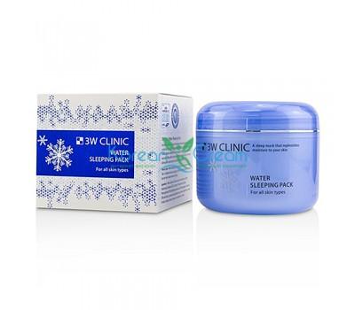 3W Clinic Маска увлажняющая для сухой кожи лица ночная - Water sleeping pack, 100мл