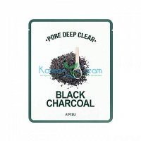 A'Pieu Глубокоочищающая маска для лица - Pore deep clear black charcoal mask, 25г