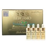 Сыворотка ампульная с экстрактом икры (4 ампулы) Caviar High Potency Ampoule Set (4 pcs) BERGAMO