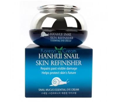 Крем антивозрастной для области вокруг глаз с муцином улитки Snail Mucus Essential Eye Cream HANHUI, 30 гр