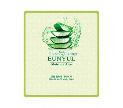 Маска тканевая с экстрактом алоэ Aloe Mask Pack EUNYUL, 30 мл (Новинка)