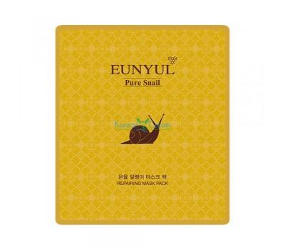 Маска тканевая с муцином улитки Snail Mask Pack EUNYUL, 30 мл