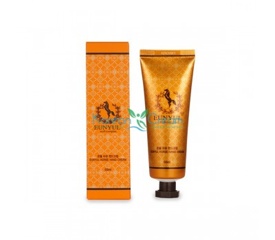 Крем для рук с лошадиным маслом Horse Oil Hand Cream EUNYUL, 50 г