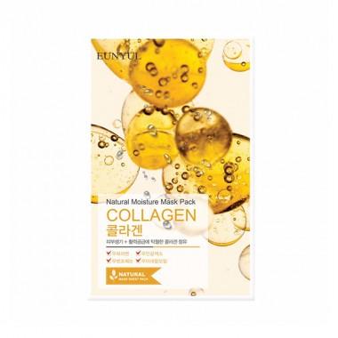 Маска тканевая с коллагеном, 22 мл — Natural Moisture Mask Pack Collagen