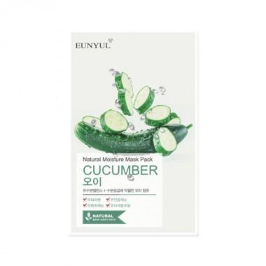 Маска тканевая с экстрактом огурца, 22 мл — Natural Moisture Mask Pack Cucumber