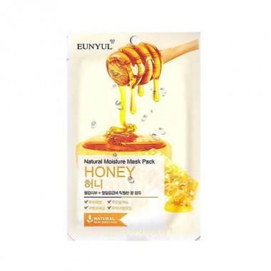 Маска тканевая с экстрактом меда, 22 мл — Natural Moisture Mask Pack Honey
